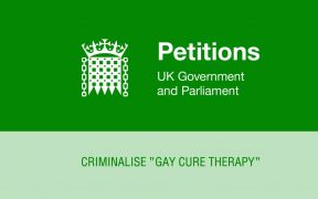 UK Parliament petition gay cure therapy