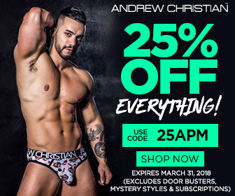 mens underwear from Andrew Christian