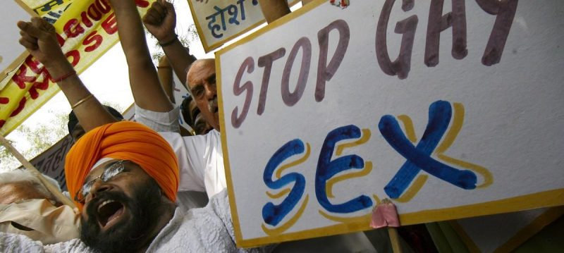 Homophobia in India