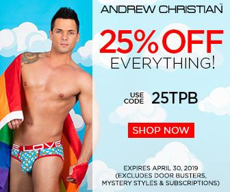 men's underwear from Andrew Christian